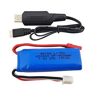 WLtoys wltoys K969 K979 K989 K999 P929 P939 7.4V 550mAh 1 set Battery / Cable / HDMI Cable Quick Charging
