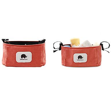 سحاب حقيبة حفاضات لون الصلبة لون الصلبة البوليستر مناسب للبس اليومي برتقالي / الأزرق الباهت / كاكي / خريف & شتاء