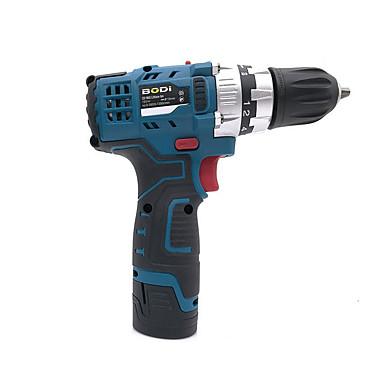 voordelige Elektrisch gereedschap-bodi opladen hand boor 12v dual-speed huishoudelijke lithiumboor multifunctionele tool elektrische schroevendraaier