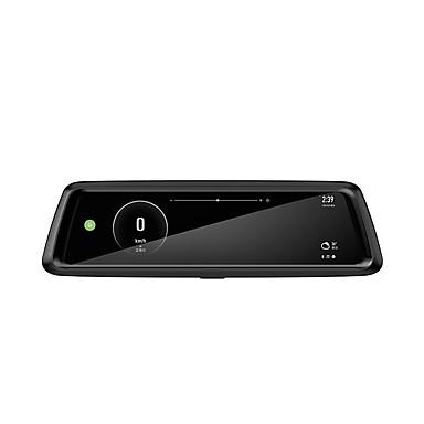 abordables DVR de Voiture-Factory OEM T903 1080p DVR de voiture 170 Degrés Grand angle 10.6 pouce IPS Dash Cam avec Wi-Fi / GPS / Enregistrement en Boucle Enregistreur de voiture