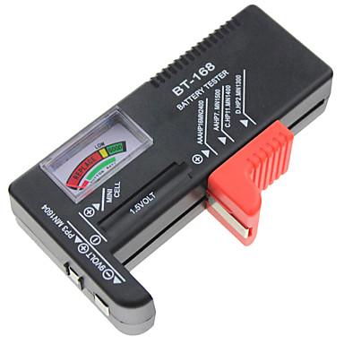 voordelige Test-, meet- & inspectieapparatuur-indicator batterij cel tester aa aaa c / d 9v volt knop checker batterijcapaciteit tester