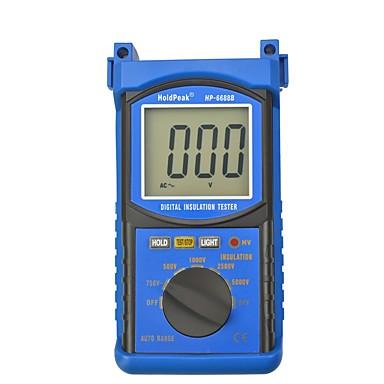 voordelige Test-, meet- & inspectieapparatuur-holdpeak hp-6688b hoge kwaliteit digitale 5000v 1999 automatische bereik isolatie weerstand tester geïsoleerde draagbare tester data hold
