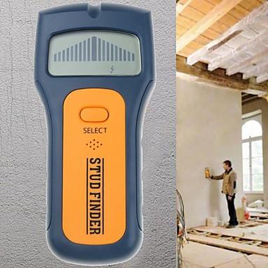 3 ב 1 מציאת חתיך חוט מתכת גלאי מתכת למצוא מתח AC חוט חי לזהות סורק הקיר מאחורי הקיר LCD תצוגת