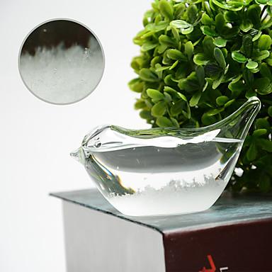 חפצים דקורטיביים, עץ זכוכית מודרני עכשווי ל קישוט הבית מתנות 1pc