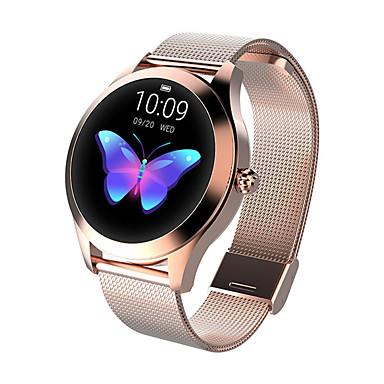 halpa Älykellot-kw10 muoti fiksu katsella naisia ihana rannekoru sykemittari unen seuranta smartwatch yhdistää ios android