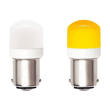 Недорогие Дневные фары-2 шт. 1156 ba15s авто светодиодные лампочки 4.5 Вт 9-30 В 3030 smd 6 светодиодный белый желтый для указателя поворота drl противотуманные фары стоп-сигнал