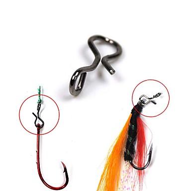 abordables Accessoires de pêche-25 pcs Accessoires de pêche Acier Inoxydable Pêche en mer Pêche à la mouche Pêche d'appât Pêche d'eau douce