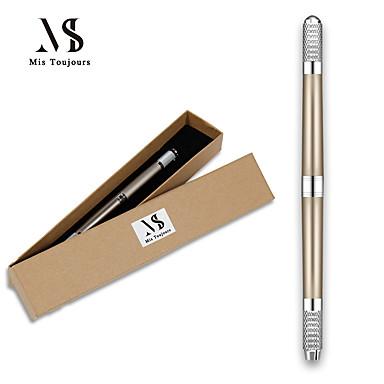 ידני מכונת קעקוע הגבות tebori microblading 3d עט על איפור קבוע עדין שיער שבץ קוסמטיקה על שפת קעקוע
