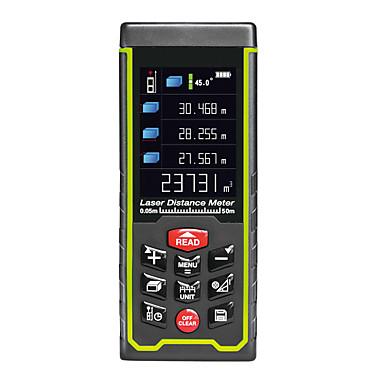 voordelige Test-, meet- & inspectieapparatuur-rz-as50 rz laser afstandsmeter afstandsmeter afstandsmeter jacht digitale handheld afstandsmeter 50m meetlint laser afstandsmeter