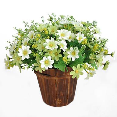 פרחים מלאכותיים 1 ענף קלאסי מודרני עכשווי חינניות פרחים לשולחן