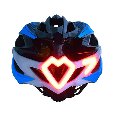 cheap Bike Helmets-Adults' Bike Helmet Turn Signal Light Remote-Controlled 24 Vents Impact Resistant Integrally-molded Ventilation EPS Sports Road Bike Mountain Bike MTB Motorcycle - Black Green Men's Women's Unisex