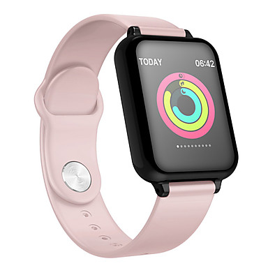 povoljno Elektronička oprema-b57 pametni sat vodootporni monitor otkucaja srca krvni tlak više sportski mod smartwatch žene nosivi sat muškarci pametni sat