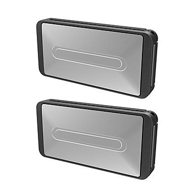 voordelige Auto-interieur accessoires-2 stks draagbare universele autogordel clip voertuig verstelbare veiligheidsgordels houder stopper gesp klem