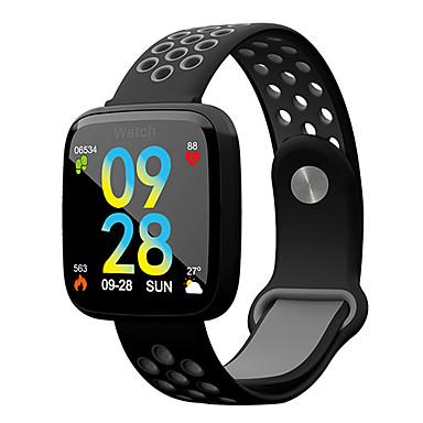 baratos Relógios Homem-Homens Relógio Esportivo Digital Estilo Moderno Esportivo Silicone Preta 30 m Impermeável Bluetooth Smart Digital Casual Ao ar Livre - Preto / Verde Preto / Vermelho Branco azul