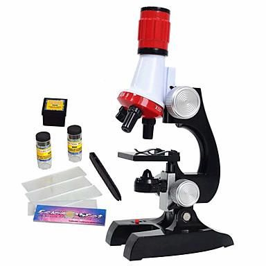 voordelige Microscopen & Endoscopen-science kits voor kinderen beginner microscoop met led 100x 400x en 1200x vergroting kinderen educatief speelgoed verjaardagscadeau