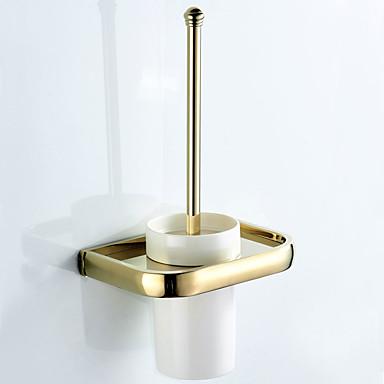מחזיק למברשת ניקוי השירותים עיצוב חדש עכשווי / מודרני פליז / קרמי 1pc - חדר אמבטיה / אמבטיה מותקן על הקיר