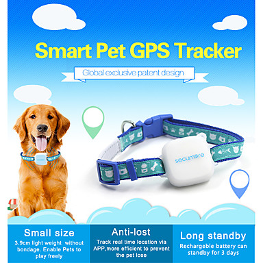 cheap Testers & Detectors-smart pet gps tracker mini dog locator position collar accurate gps tracking tracker cat for animals devices finder Waterproof