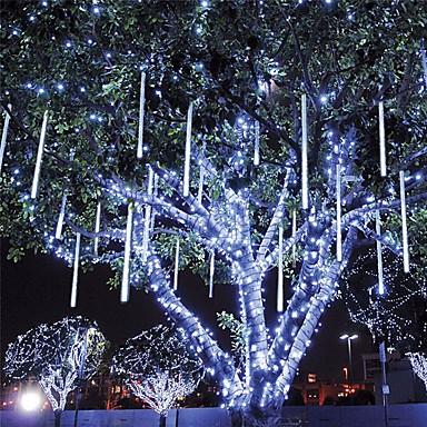 LOENDE 0.2 מ ' סרטי תאורת LED קשיחים 96 נוריות Dip Led לבן / כחול עמיד במים / Party / דקורטיבי 100-240 V 1set