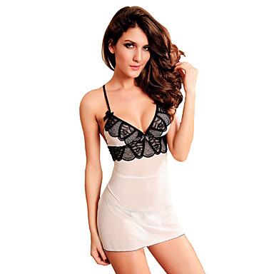 b8340dee5aef2a tanie Modna bielizna-Damskie Puszysta Super seksowny Skromna piżama / halka  Bielizna nocna - Koronka