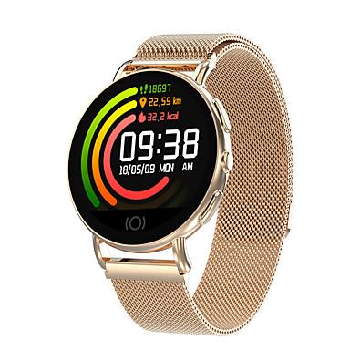 baratos Relógios Senhora-Casal Relógio Esportivo Digital Aço Inoxidável Criativo Relógio Casual Adorável Digital Casual Elegante - Dourado Preto Prata