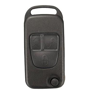 voordelige Auto-interieur accessoires-vervanging 3 knoppen afstandsbediening sleutelhanger shell case voor mercedes benz ml c cl s klasse