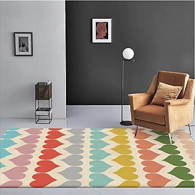 שטח שטיחים יום יומי / מודרני polyster, מלבן איכות מעולה שָׁטִיחַ