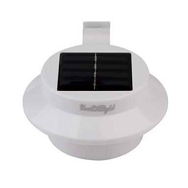 billige Utendørsbelysning-YouOKLight 1pc 0.3 W Solar Wall Light Lysstyring Varm hvit 5 V Utendørsbelysning 3 LED perler