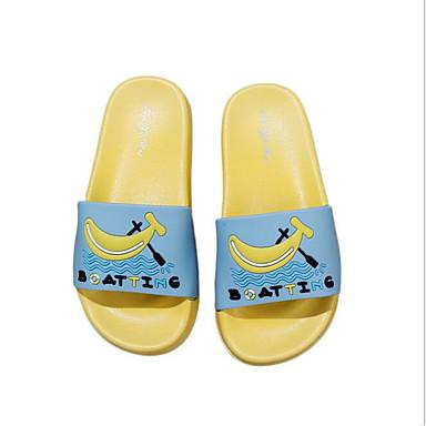 baratos Sapatos de Criança-Para Meninos / Para Meninas PVC Chinelos e flip-flops Infantil Conforto Vermelho / Azul / Rosa claro Verão