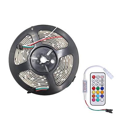 billige LED Strip Lamper-brelong smd5050 5m 300led epoksy vanntett lysstang 21 nøkkel infrarød kontroller