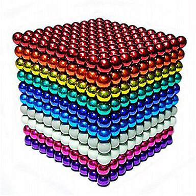 povoljno Izgradnja Igračke-216/512/1000 pcs 5mm Magnetne igračke Magnetske kuglice Kocke za slaganje Snažni magneti Magnetska igračka Magnetska igračka Stres i anksioznost reljef Uredske stolne igračke Uradi sam Dječji