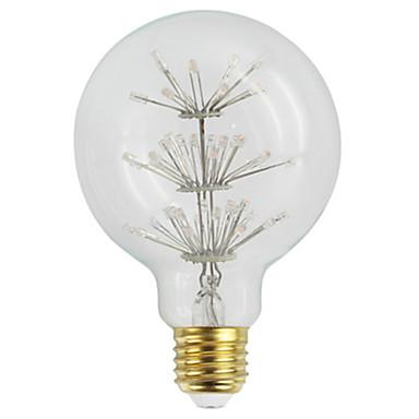 YWXLIGHT® 1pc 3 W נורת להט לד 360 lm E26 / E27 G95 60 LED חרוזים לד בכוח גבוה דקורטיבי צהוב חם 220-240 V 110-120 V