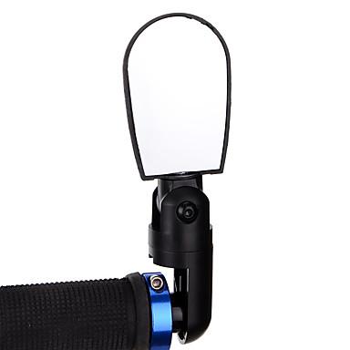 billige Sykkeltilbehør-Bakspeil Bar End Bike Mirror Speil til sykkelstyre Justerbare Universell Stor baksynsvinkel 360° rotasjon Verneutstyr Til Vei Sykkel Fjellsykkel Sykling ABS Gul Rød Blå