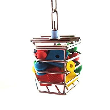 povoljno Oprema za ptice-Ptica Stalci i ljestve Metal Pet Friendly / Fokus igračka / Igračke od pepela / tkanine 16 cm