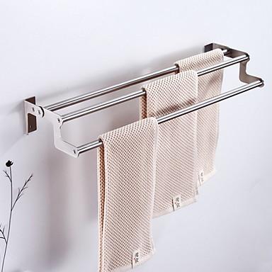מתלה מגבת יצירתי עכשווי פלדת אל חלד / ברזל 1pc מותקן על הקיר