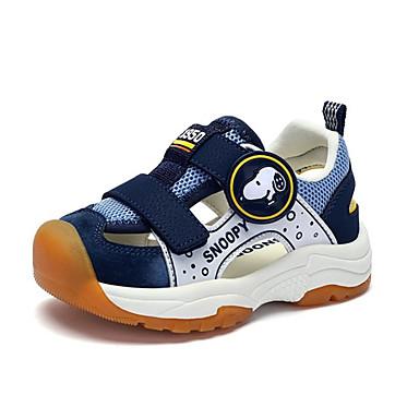 baratos Sapatos de Criança-Para Meninos Sintéticos Sandálias Criança (9m-4ys) / Little Kids (4-7 anos) Conforto Preto / Azul Escuro / Vermelho Verão