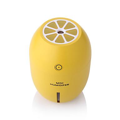 voordelige Auto-interieur accessoires-180 ml citroen mini usb draagbare ultrasone luchtbevochtiger led licht luchtreiniger voor kantoor aan huis auto