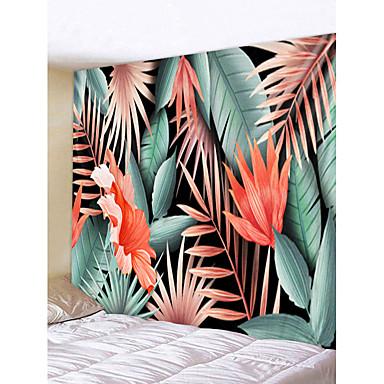 Puutarha-teema / Kukkais-teema Wall Decor 100% polyesteri Klassinen / Moderni Wall Art, Seinävaatteet Koriste