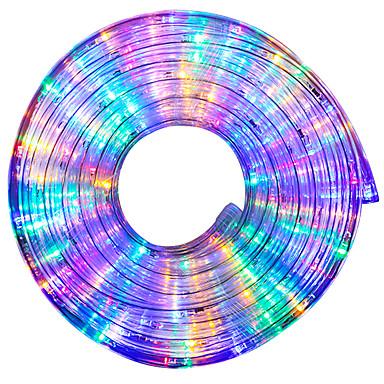 billige LED Strip Lamper-10 m RGB-lysstriper 240 LED EL Multifarget Kreativ / Fest / Dekorativ 220 V 1pc