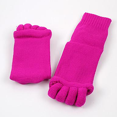 abordables Accessoires pour Chaussures-1 paire Unisexe Chaussettes Épaississant Couleur Pleine Chaud Style Simple Velours EU36-EU42