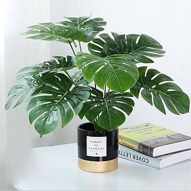 billige Kunstige blomster-Kunstige blomster 1 Afdeling Klassisk Moderne Moderne Planter Bordblomst