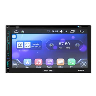 voordelige Automatisch Electronica-litbest he6606 6,95 inch 2 din android in-dash auto dvd-speler / auto gps navigator touchscreen / gps / ingebouwde bluetooth voor universele bluetooth ondersteuning mov / rm enzovoort