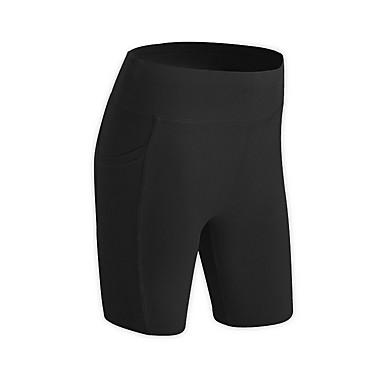 Mujer Shorts de running Deportes Color sólido Shorts / Malla corta Prendas de abajo Running Ciclismo Ropa de Deporte Transpirable Secado rápido Suave Reductor del Sudor Alta elasticidad Regular
