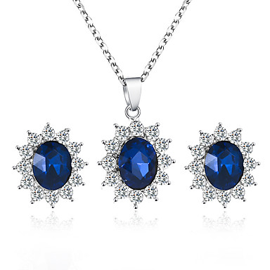 Synthetic Sapphire, Jewelry Sets, Search LightInTheBox