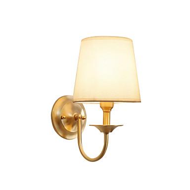 Бра настенный светильник американский деревенский бра подсвечник нордический простой спальня ночник свет настенное крепление латунь на основе