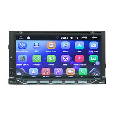 voordelige Automatisch Electronica-litbest he6611 7 inch 2 din android in-dash auto dvd speler / auto gps navigator touchscreen / gps / ingebouwde bluetooth voor universele bluetooth ondersteuning rm / rmvb / divx mp3 / wav jpg