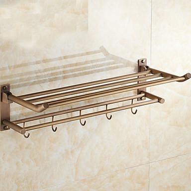 Havlu Çubuğu Yeni Dizayn / Çok Fonksiyonlu Modern Paslanmaz Çelik 1pc - Banyo Çift Duvara Monte Edilmiş