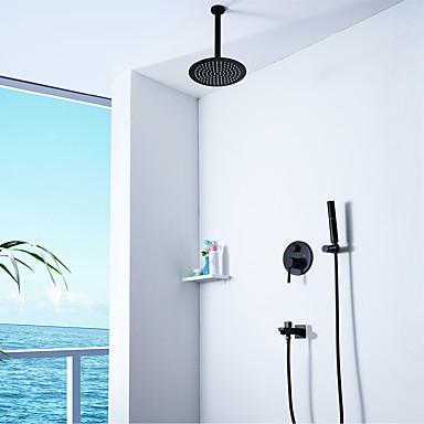 Duş Musluğu - Çağdaş N / A Duvar Tesisatı Seramik Vana Bath Shower Mixer Taps