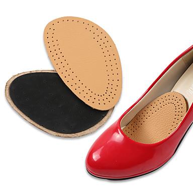 abordables Accessoires pour Chaussures-1 paire orthèses Semelle Intérieures Cuir Avant du Pied Printemps Unisexe Chair