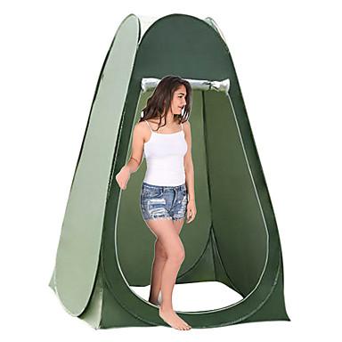 Недорогие Палатки и укрытия-1 человек Душевые палатки Всплывающая палатка На открытом воздухе Компактность Влагонепроницаемый Быстровысыхающий Однослойный Самораскрывающаяся палатка Сферическая Палатка 2000-3000 mm для