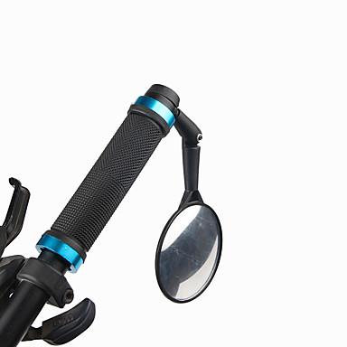 billige Sykkeltilbehør-Bakspeil Bar End Bike Mirror Justerbare Bærbar Støtsikker Roterbare Universell Til Vei Sykkel Fjellsykkel Sykkel med fast gir Sykling PVC Svart